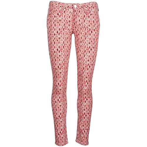 material Women slim jeans Lee SCARLETT Red / Orange