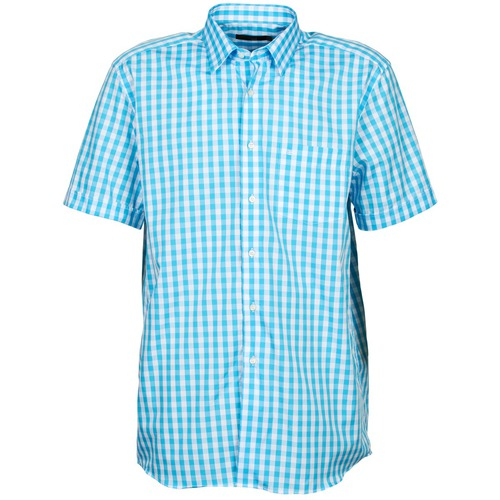 material Men short-sleeved shirts Pierre Cardin 539236202-140 Blue