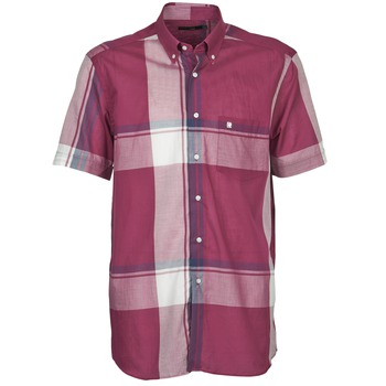 material Men short-sleeved shirts Pierre Cardin 538536226-860 Mauve / Violet