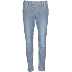 material Women straight jeans Marc O'Polo LAUREL Blue / White