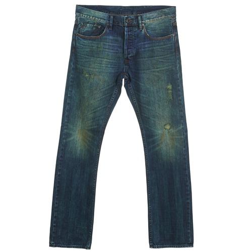 material Men straight jeans Ünkut Six Blue