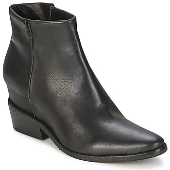 Shoes Women Mid boots Strategia BLOCUSSON Black
