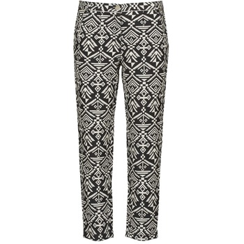 Wide leg / Harem trousers Freeman T.Porter PARADISE AFRICAN COT. BLACK INK