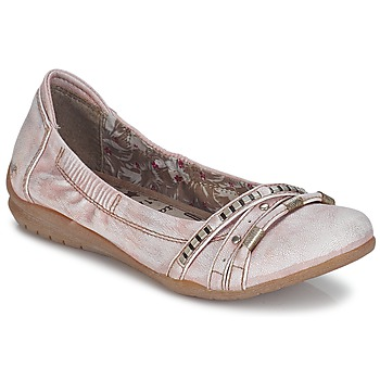 Shoes Women Ballerinas Mustang IVERO Pink