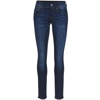 material Women Skinny jeans G-Star Raw LYNN MID SKINNY Slander / Blue / Superstretch / Medium / Aged