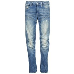 material Women straight jeans G-Star Raw 5620 3D LOW BOYFRIEND WMN MEDIUM / Aged / Painted / SCATTER / DENIM