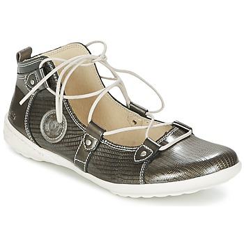 Shoes Women Ballerinas Pataugas NORWAY/V Silver