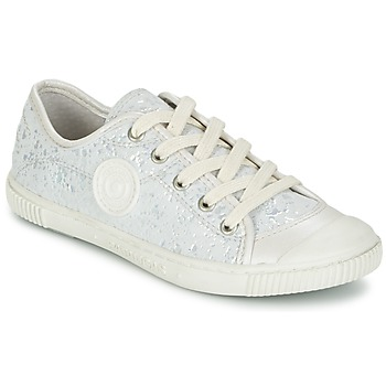 Shoes Girl Low top trainers Pataugas BOUTCHOU White