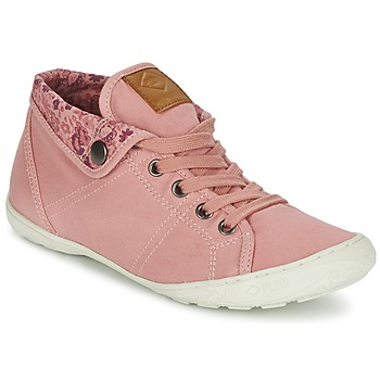 Shoes Women High top trainers PLDM by Palladium GAETANE TWL Pink / FLOWERS