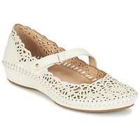 Shoes Women Ballerinas Pikolinos PUERTO VALLARTA 655 White