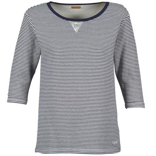 material Women sweaters Napapijri BOISSERON Marine / White