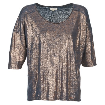 material Women short-sleeved t-shirts Miss Sixty FOX MARINE / Gold