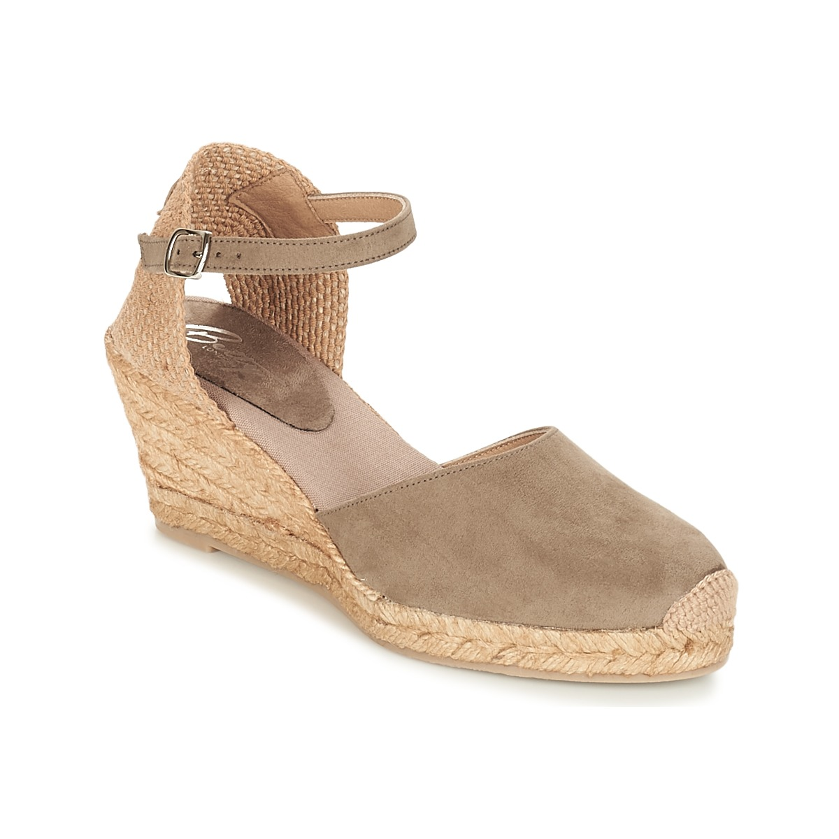 Sandals Betty London TECHNO TAUPE
