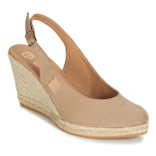 Shoes Women Sandals Betty London TECHNO Beige