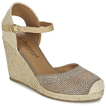 Shoes Women Sandals Spot on BERZI TAUPE