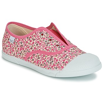 Shoes Girl Low top trainers Citrouille et Compagnie RIVIALELLE Pink / Multicolour