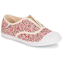 Shoes Girl Low top trainers Citrouille et Compagnie RIVIALELLE Ecru / Multicolour