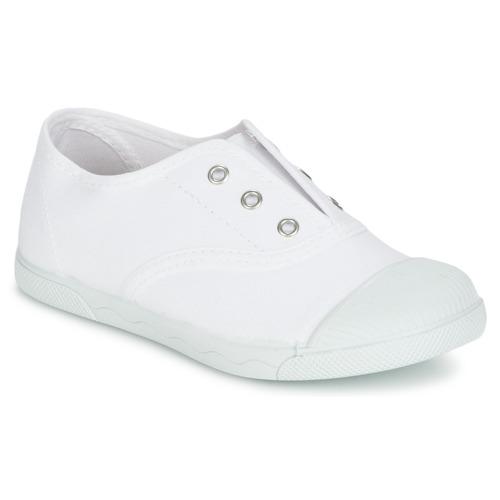 Shoes Children Low top trainers Citrouille et Compagnie RIVIALELLE White