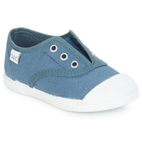 Shoes Children Low top trainers Citrouille et Compagnie RIVIALELLE Blue / Jeans