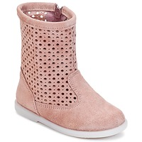 Shoes Girl Mid boots Citrouille et Compagnie BOREAL Pink