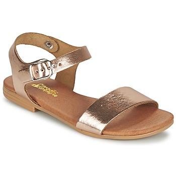 Shoes Girl Sandals Citrouille et Compagnie JOUBI Coppery