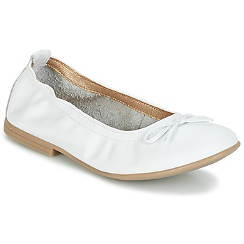 Shoes Girl Ballerinas Citrouille et Compagnie JAPPALIE MOCA White