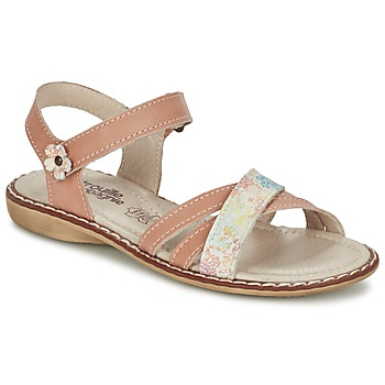 Shoes Girl Sandals Citrouille et Compagnie JANDOLI Nude