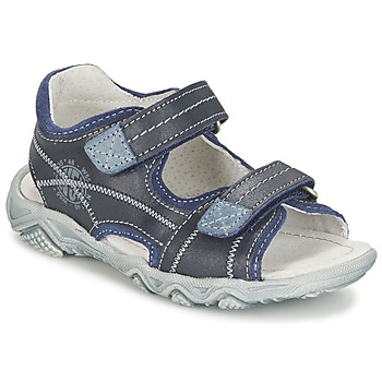Shoes Boy Sandals Citrouille et Compagnie RAMTIGA Blue
