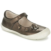 Shoes Girl Ballerinas Citrouille et Compagnie MELINA BIS Brown / IRIS