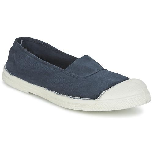 Shoes Women Low top trainers Bensimon TENNIS ELASTIQUE Marine