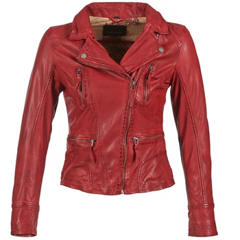 material Women Leather jackets / Imitation leather Oakwood 60861 Red