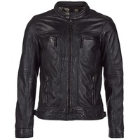 material Men Leather jackets / Imitation leather Oakwood CASEY Black