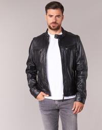 material Men Leather jackets / Imitation leather Oakwood 60901 Black
