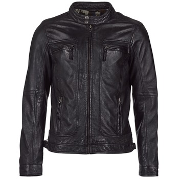 material Men Leather jackets / Imitation leather Oakwood 60901 Black