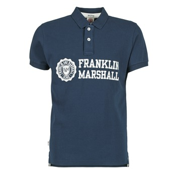 material Men short-sleeved polo shirts Franklin & Marshall AYLEN MARINE