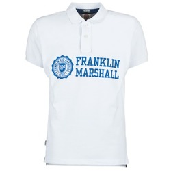 material Men short-sleeved polo shirts Franklin & Marshall AYLEN White