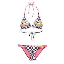material Women Bikini Rip Curl CANCUN TRISET Multicoloured