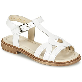 Shoes Girl Sandals Aster TCHANIA White