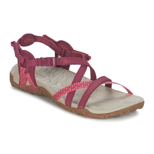 Shoes Women Sports sandals Merrell TERRAN LATTICE II Pink