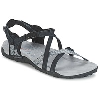 Shoes Women Sandals Merrell TERRAN LATTICE II Black