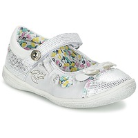 Shoes Girl Ballerinas Catimini COLIBRI Silver