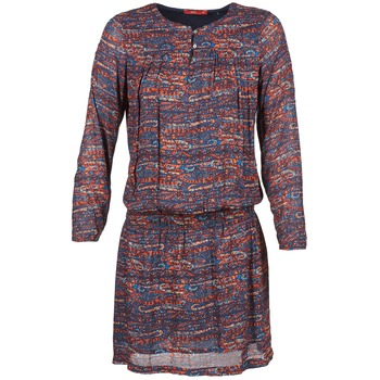 material Women Short Dresses Esprit AGAROZA MARINE / Multicoloured
