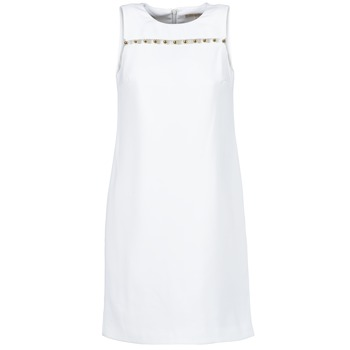 material Women Short Dresses MICHAEL Michael Kors MS68W2L3GZ White