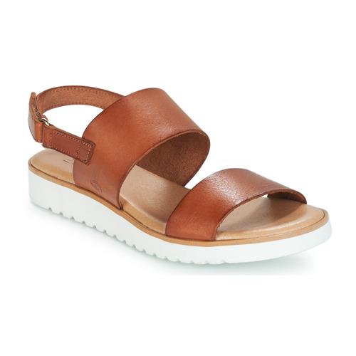 Shoes Women Sandals Casual Attitude FULIGULE Camel