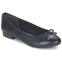 Shoes Women Ballerinas Marco Tozzi OPLAMOA MARINE