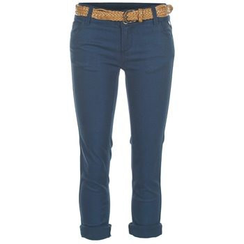 material Women cropped trousers Best Mountain COULTER Blue