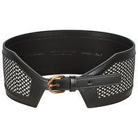 Accessorie Women Belts Hugo Boss Black EMILIEN Black / White