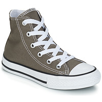 Shoes Children High top trainers Converse CHUCK TAYLOR ALL STAR SEAS HI Grey