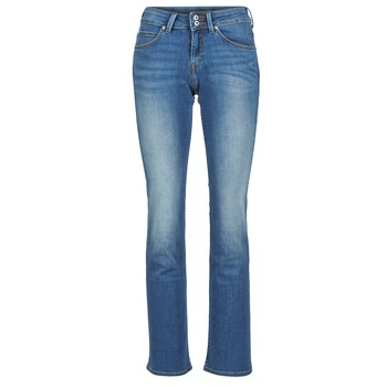 material Women bootcut jeans Lee JOLIET Blue / MEDIUM