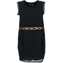 material Women Short Dresses See U Soon MOREPEN Black